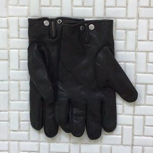 Men's leather gloves , cashmere lined.